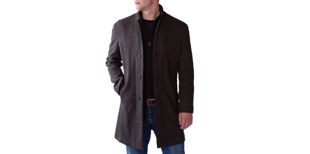 GameDay Trench Coat - Combining a classic look with modern fabric technology, this trench coat is perfect for date night or game night. You can dress it up with a suit and tie or dress it down with a t-shirt and jeans, but either way, you'll look stylish and feel great.