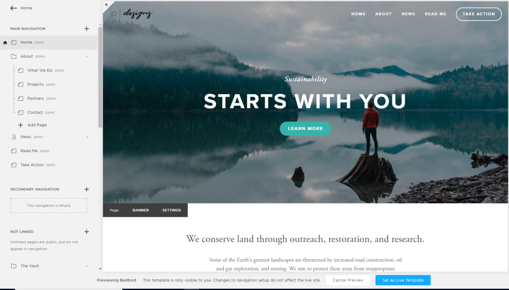 Step-by-Step Guide to Switching your Squarespace Template | Demo Content