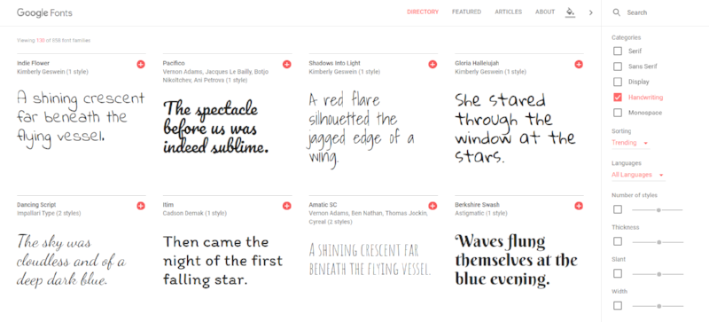7 tools I can't design without | google fonts