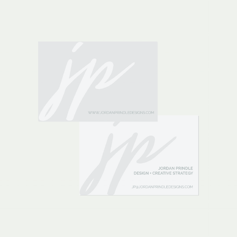 Business Card Templates from the Jordan Prindle Designs Shop
