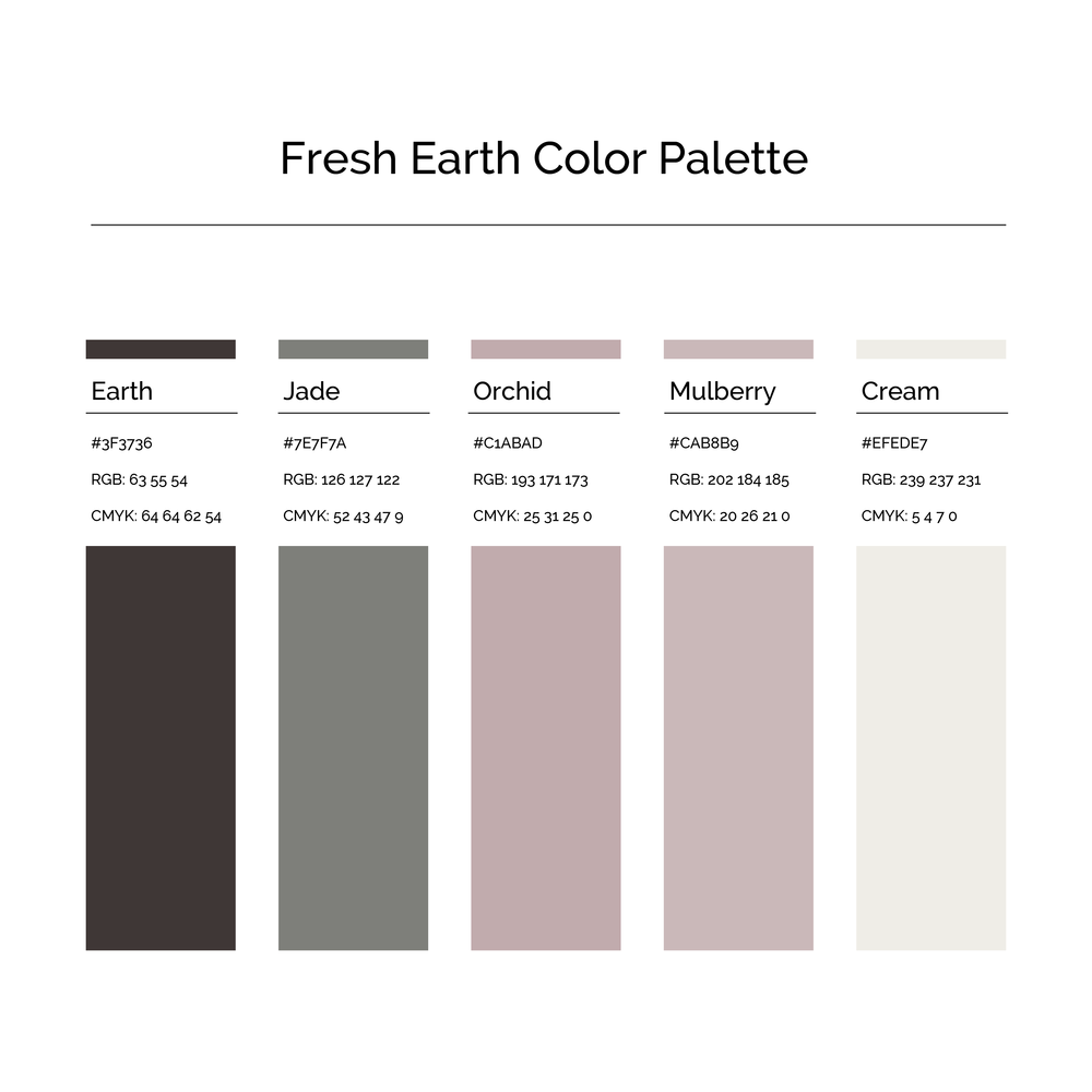 15 More Color Palettes | Fresh Earth Color Palette
