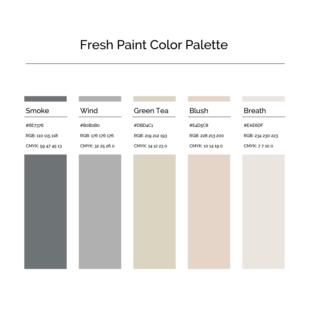 15 More Color Palettes | Fresh Paint Color Palette