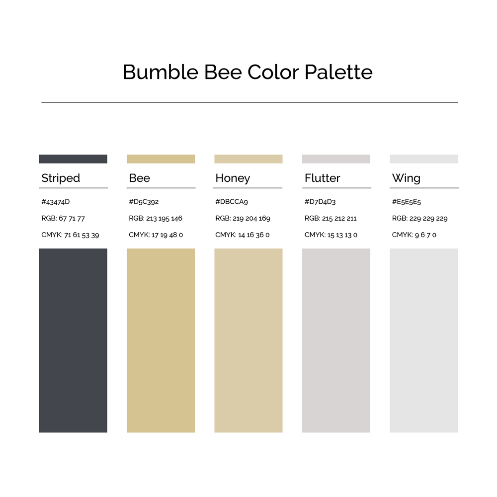 15 More Color Palettes | Bumble Bee Color Palette
