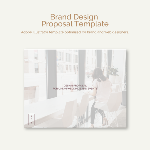 Brand Design Proposal Template Jordan Prindle Designs