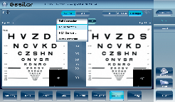 Visual Acuity Simulation