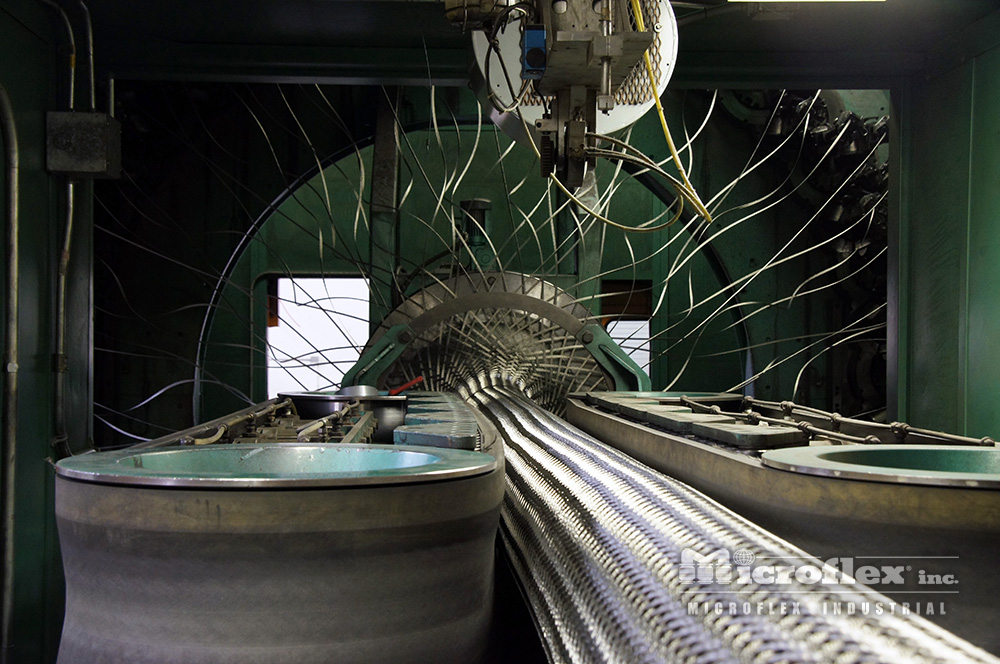Microflex Braided Metal Hose Machine