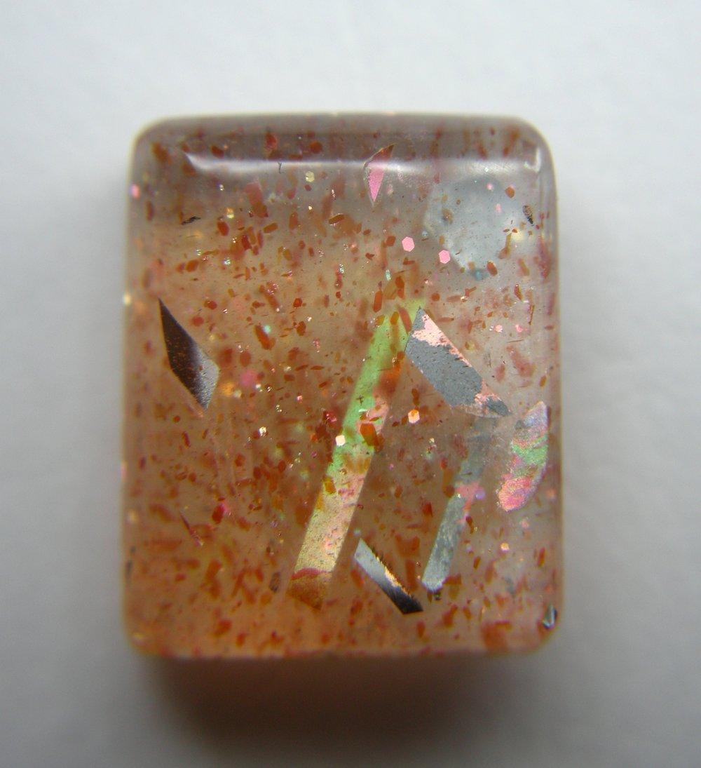 Haematite Sunstone with Iridescent Magnetite
