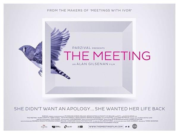 We composed the music for Alan Gilsenan's film, The Meeting, which opens in cinemas September 28th. It tells the real life story of an Irish woman who was violently sexually assaulted in 2005 and met with her attacker 9 years later as part of a restorative justice process. It is a powerful, moving film that will stay with you for a long time. We're very grateful to Ailbhe for telling her story and to Alan for his trust in us on our first feature length film. [trailer link in bio]