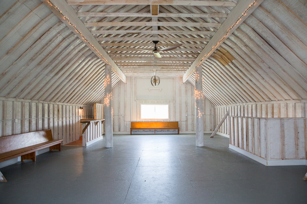 Second floor of the Barn