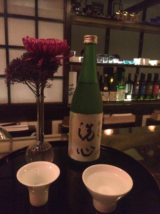 Sake - • SEN SHIN •premium sake with a smooth and sophisticated flavor