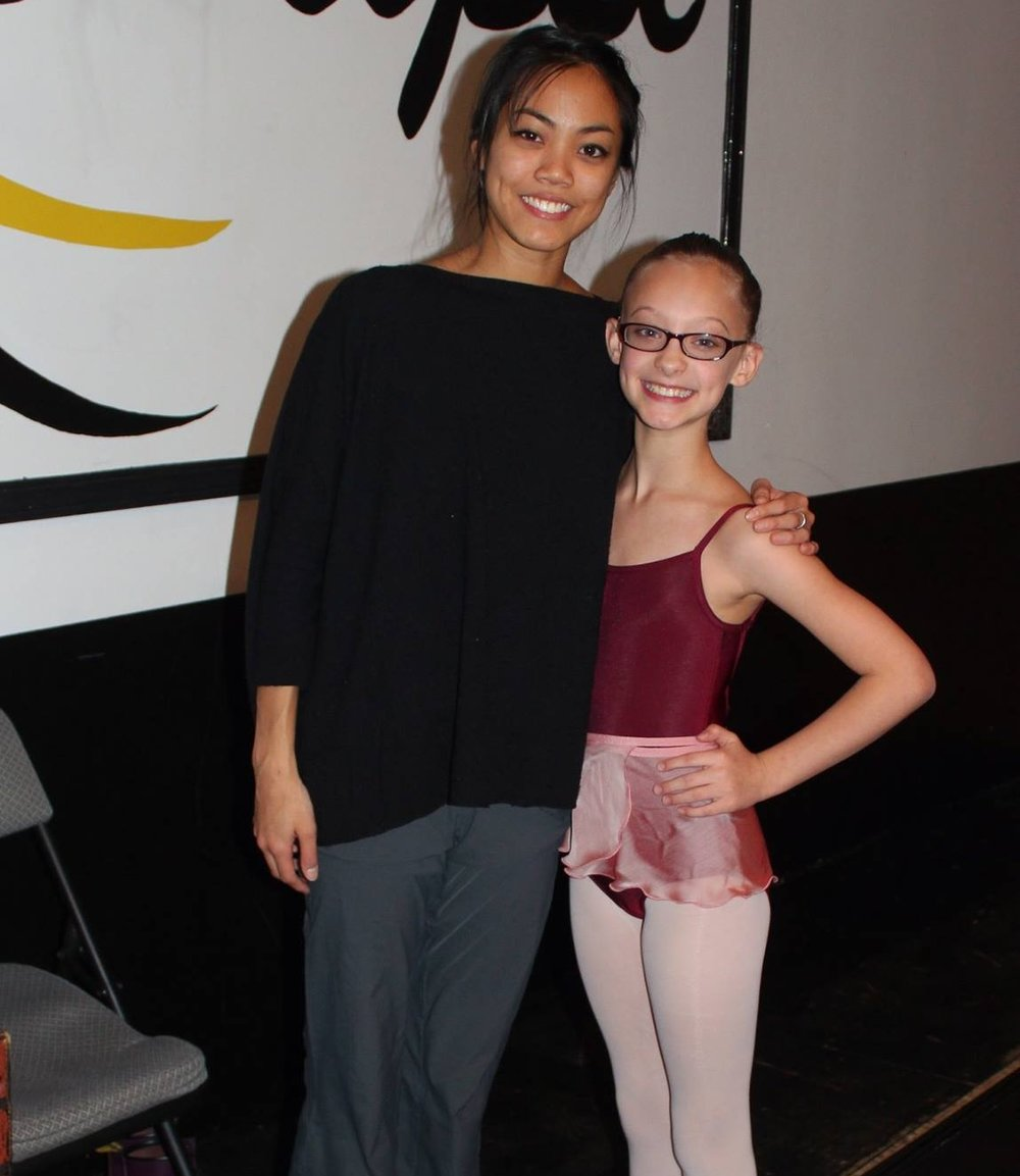 Jeraldine Mendoza - Lead Dancer for Joffrey Ballet