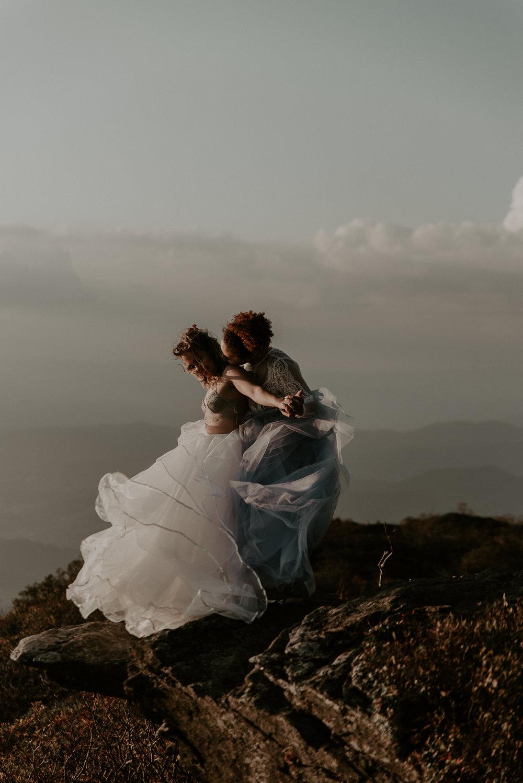 Bride & Bride North Carolina Wedding