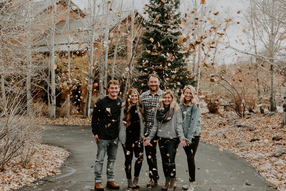 Utah Cabin Family Portraits