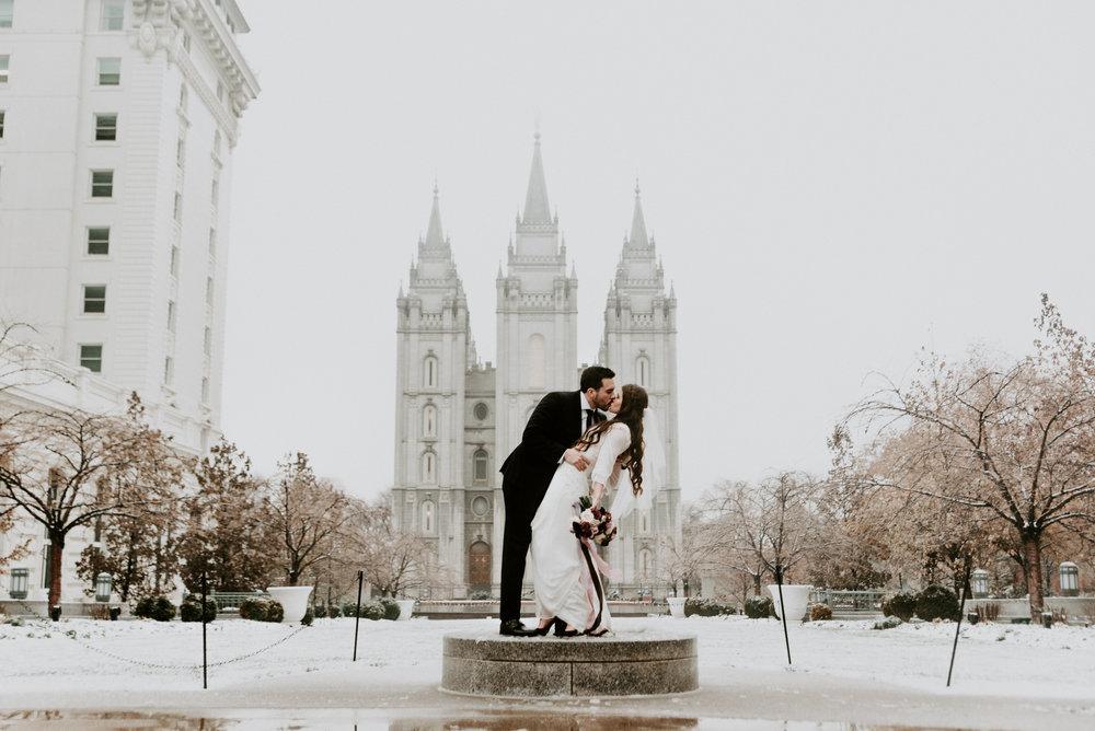 SLC Temple Bridals