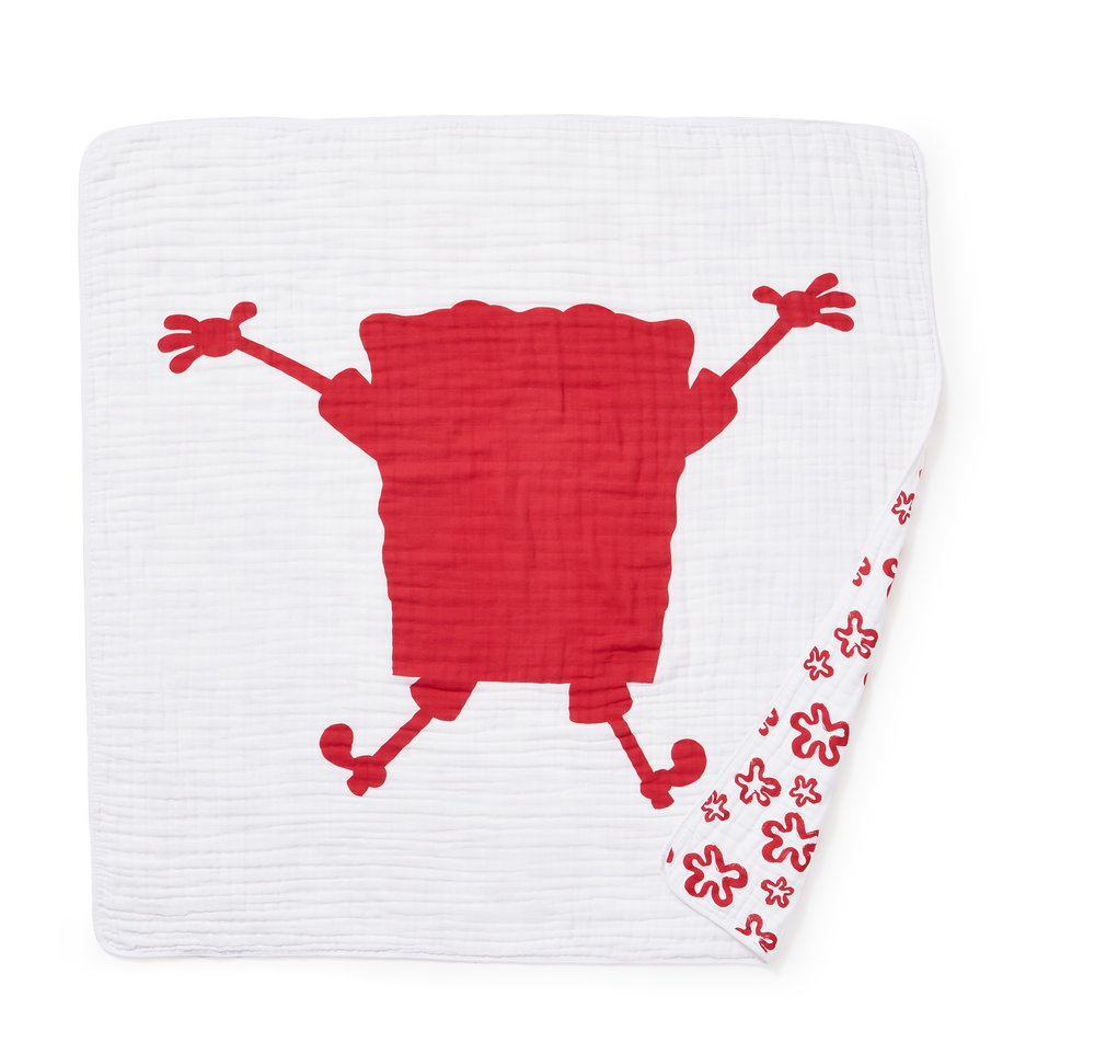 aden + anais x SPONGEBOB Dream Blanket  $49.95