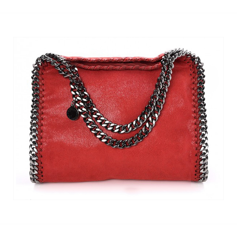 STELLA MCCARTNEY Falabella Shaggy Deer Mini Shoulder Bag  $770.00