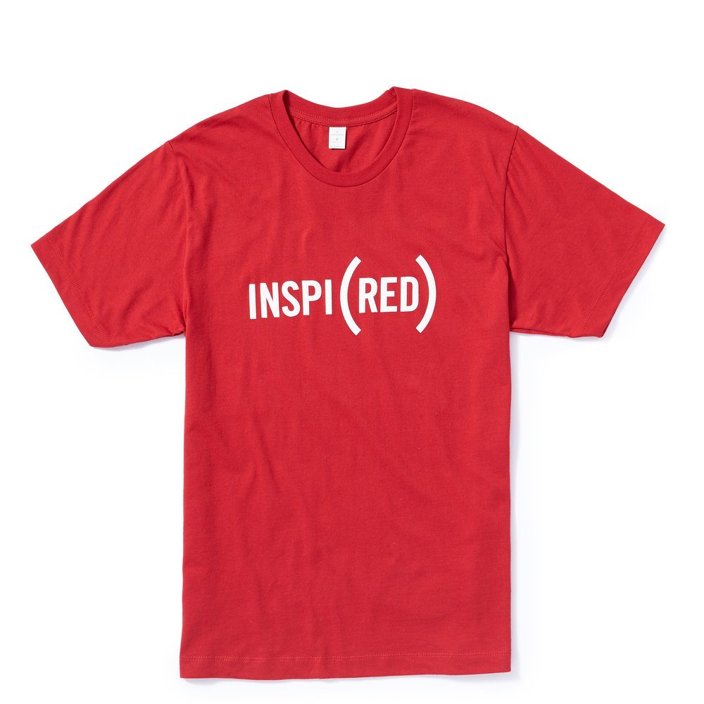 INSPI(RED) MEN'S TEE  $30.00