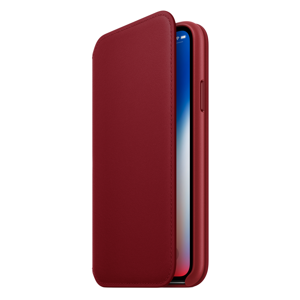 APPLE iPhone X Leather Folio  $99.00