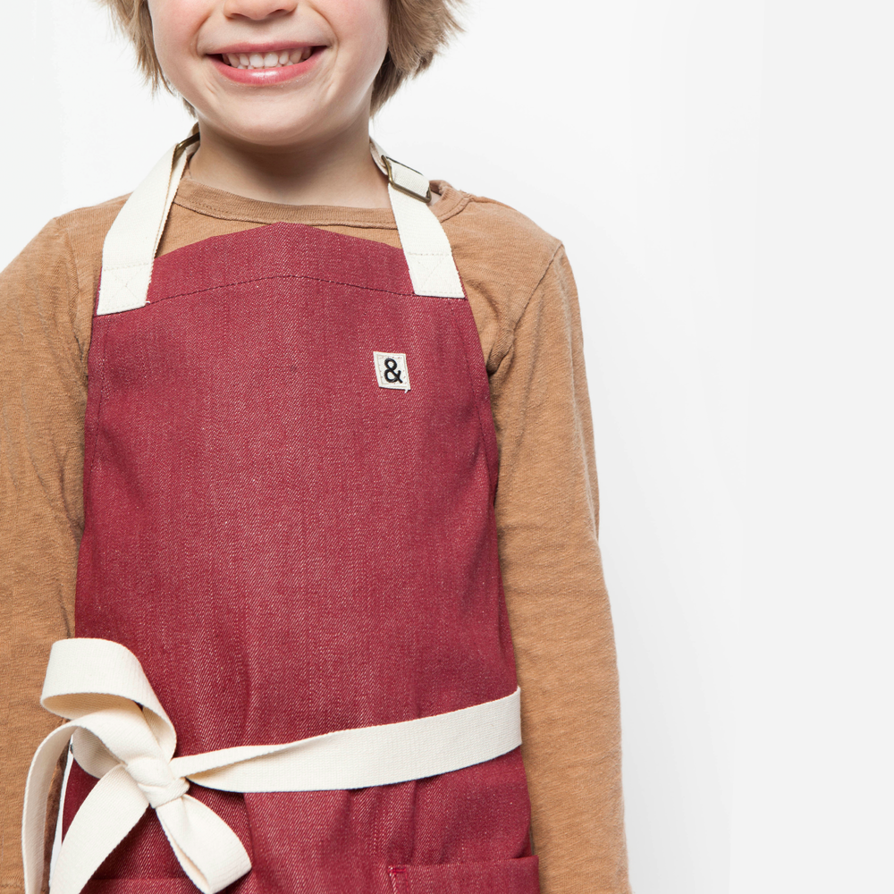 HEDLEY & BENNET DENIM KID's APRON  $48.00