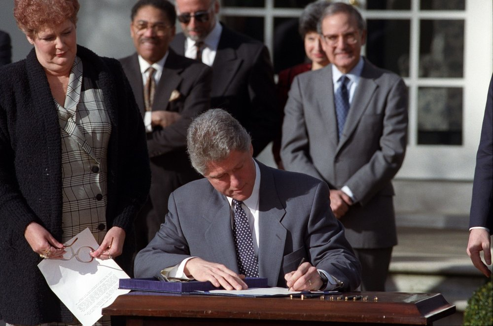 2000: A GLOBAL PERSPECTIVE IS PRIORITIZED - In 2000, the conversation around HIV/AIDS in the U.S. began to shift outward thanks to the Global AIDS and Tuberculosis Relief Act signed by then president Bill Clinton. This act saw the United States establish the World Bank AIDS Trust Fund for international AIDS and TB relief initiatives.