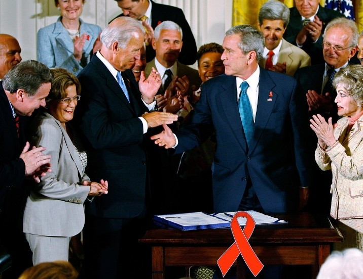 2003: THE UNITED STATES DIGS IN - 2003 saw the creation of the U.S. President's Emergency Plan for AIDS Relief (PEPFAR), marking a significant increase in funding and attention towards HIV/AIDS. Established by George W. Bush, PEPFAR was conceived as a compassionate effort to deliver life-saving services in countries hit hardest by HIV/AIDS, and has expanded its mandate to include the challenge of controlling the pandemic.