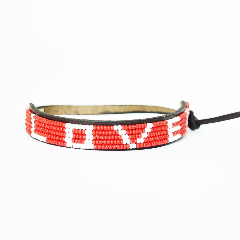 UBUNTU (RED) LOVE BRACELET  $25.00