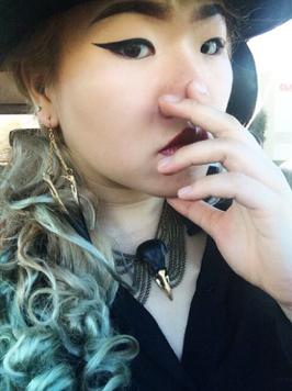 black gold magpie bib necklace.png
