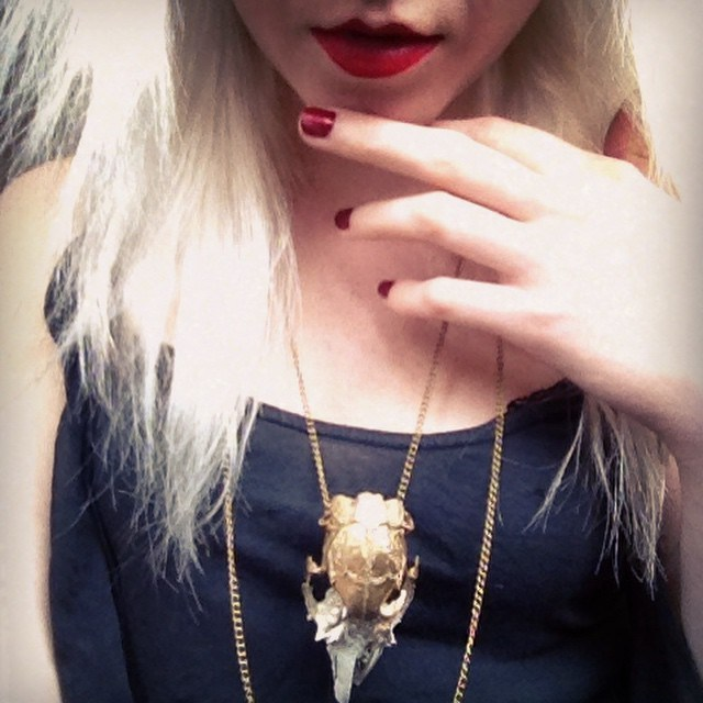 metallic rabbit skull necklace.jpg
