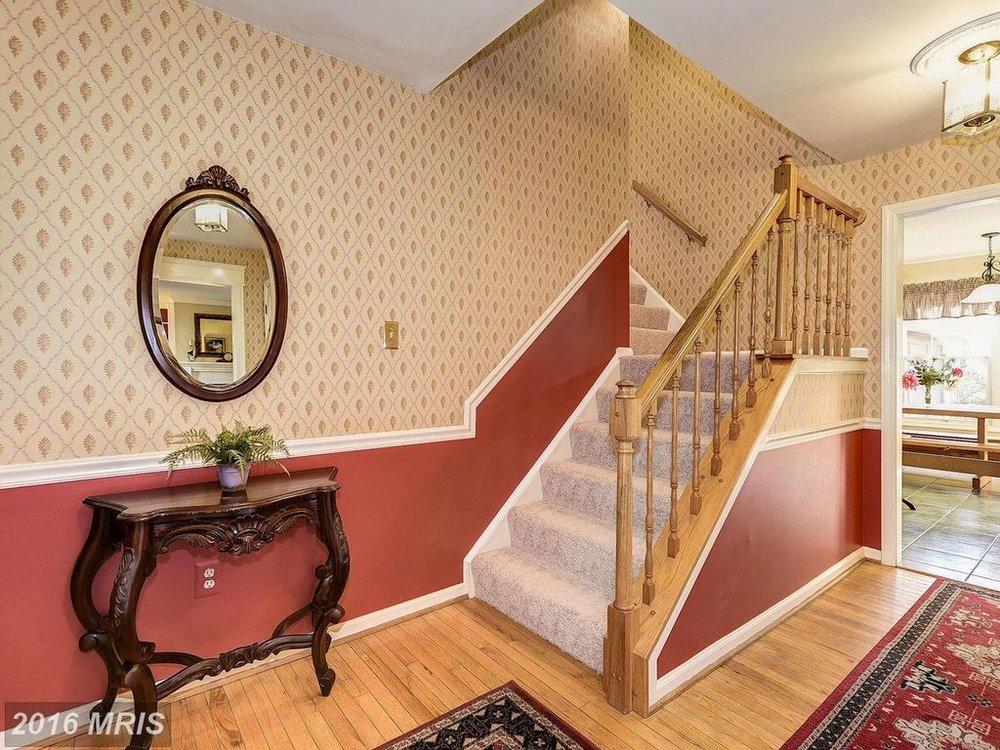 Foyer Wallpaper : Cool foyer wallpaper ideas interior design for home remodeling
