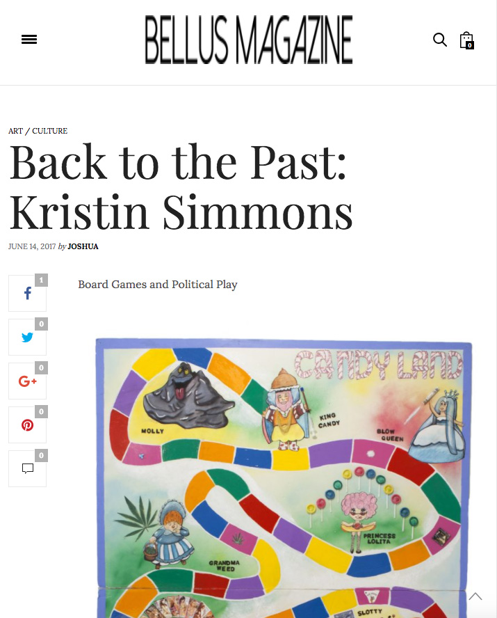 - Back to the Past: Kristin Simmons