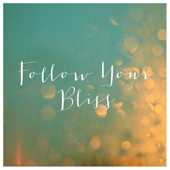 follow your bliss Bliss Wellness & Sleep Michelle McAvoy Ottawa