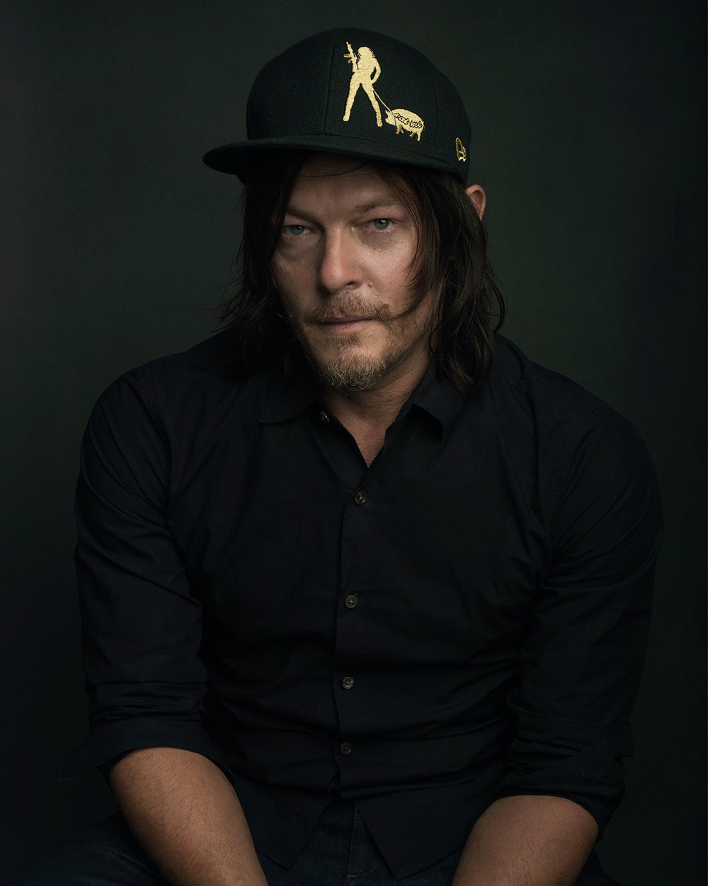 NORMAN REEDUS for ESQUIRE