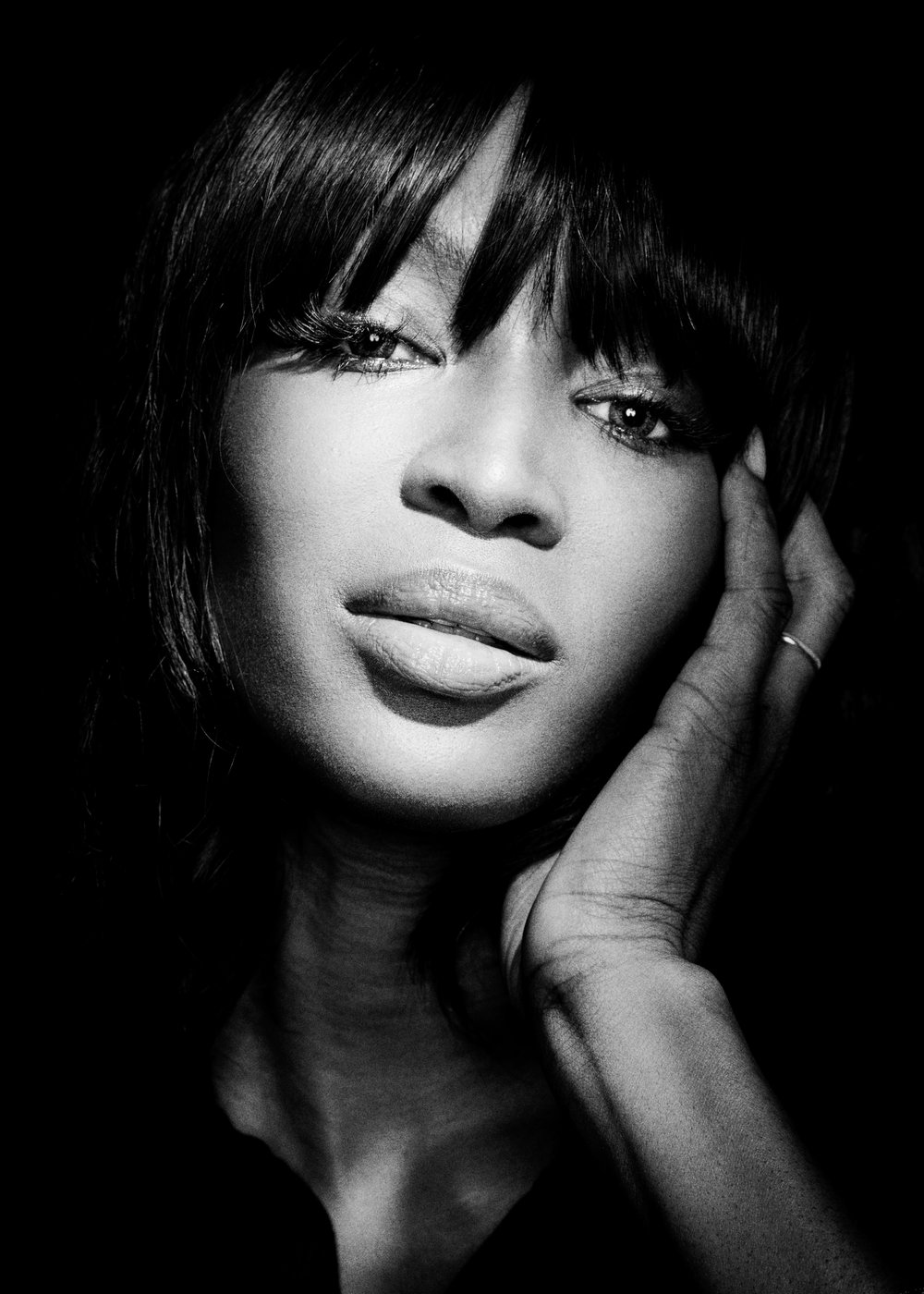 NAOMI CAMPBELL for ESQUIRE