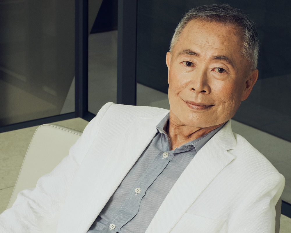 GEORGE TAKEI for ESQUIRE