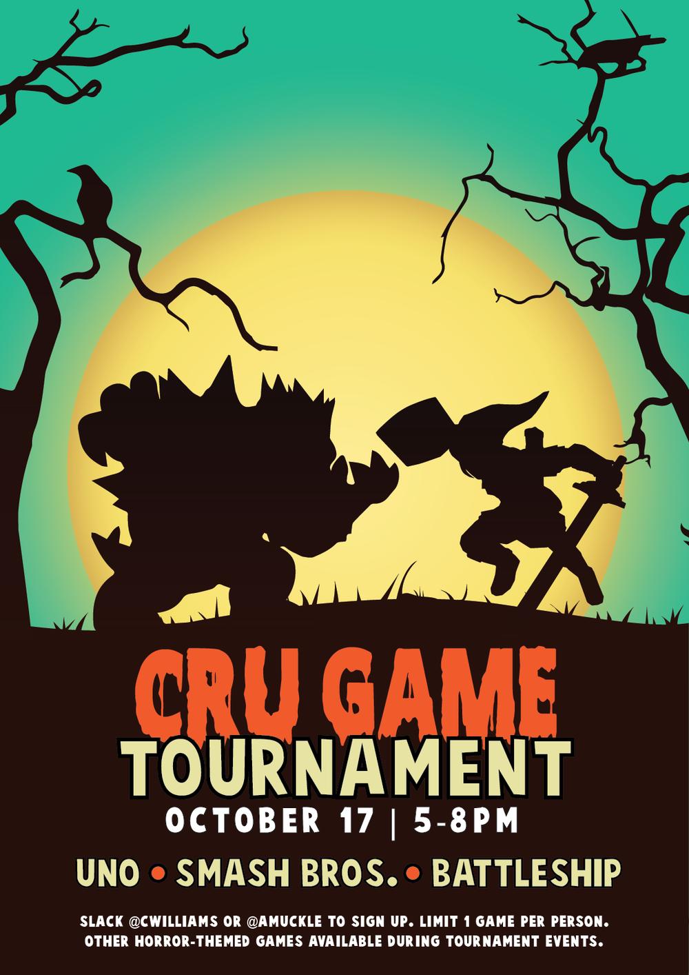"""""""CRU GAME TOURNAMENT"""""""