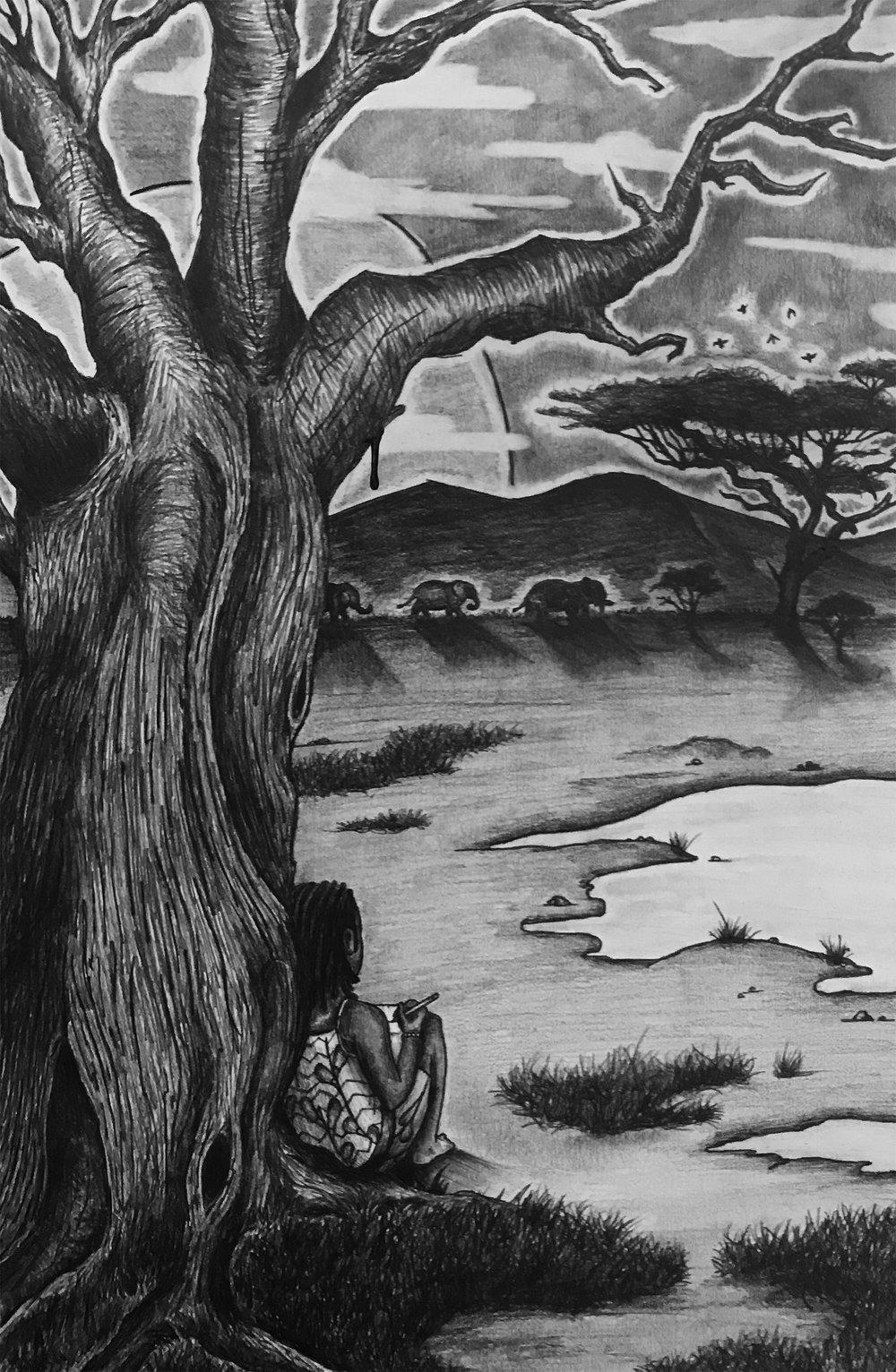 """ADA AND THE BLEEDING TREE"""
