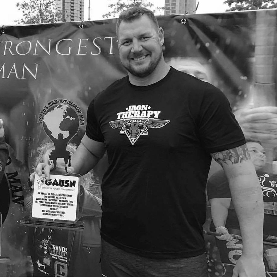 Chad Macklin - Strongman