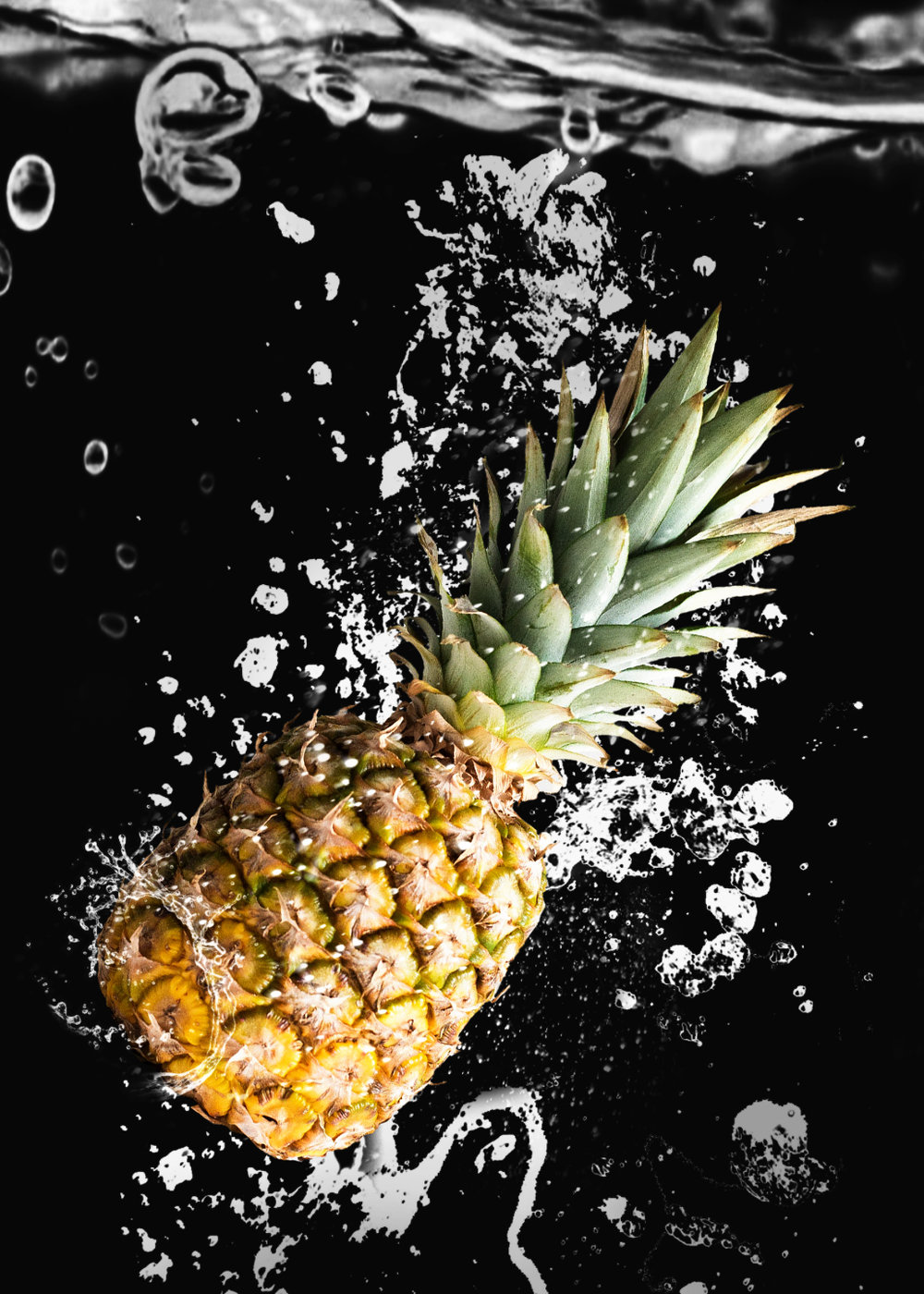 PINEAPPLE SPLASH | COMPOSITE