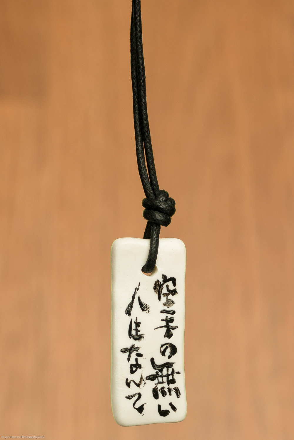 Japanese Calligraphy Necklace $12.00