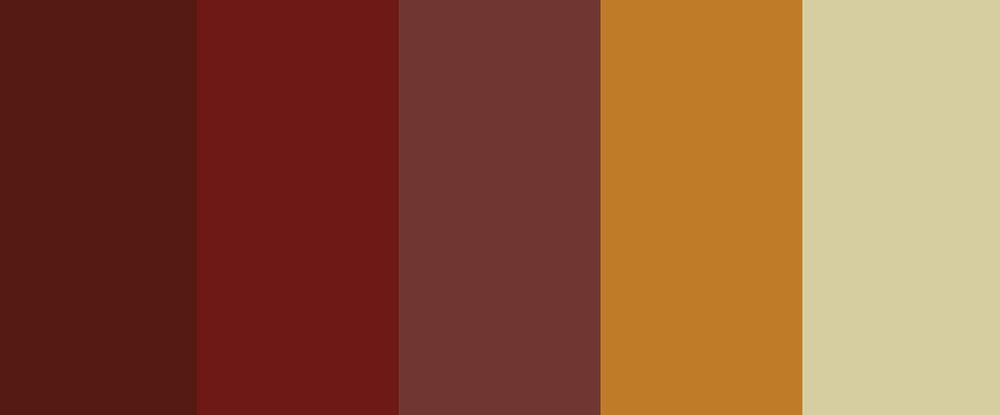 Colores básicos de otoño