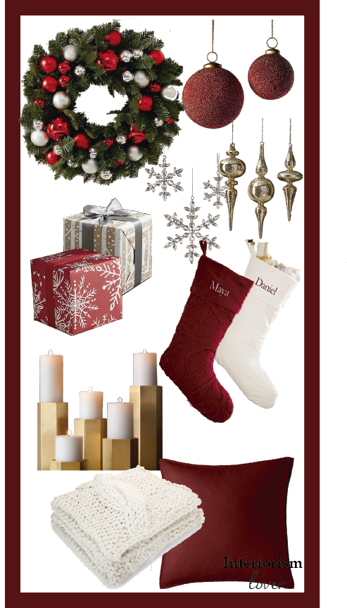 Red Christmas Accessories