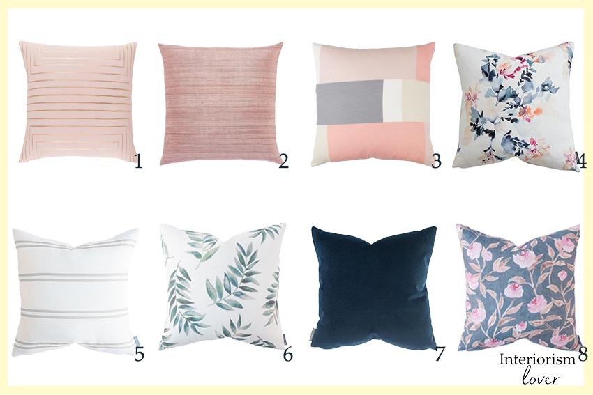 Opciónes de cojines |  Pillow options