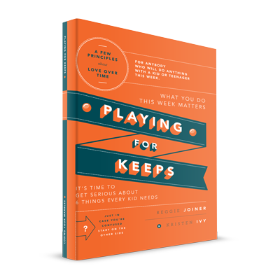 - Playing for Keeps / Losing Your Marbles - A book for anybody who interacts with a kid or teenager every week--from a parent to a coach to Small Group Leader. Anybody. Playing for Keeps explores six things every kid needs over time, and provides 18 practical ideas for anybody who wants to make what really matters matter more.