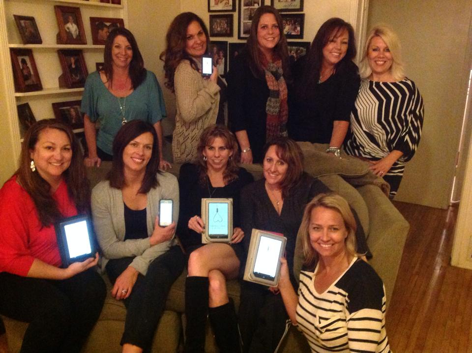 this lovely group of ladies read  lighthouse nights  in their book club and send me this picture. if your club reads one of my books, i would love a picture to include on the site!