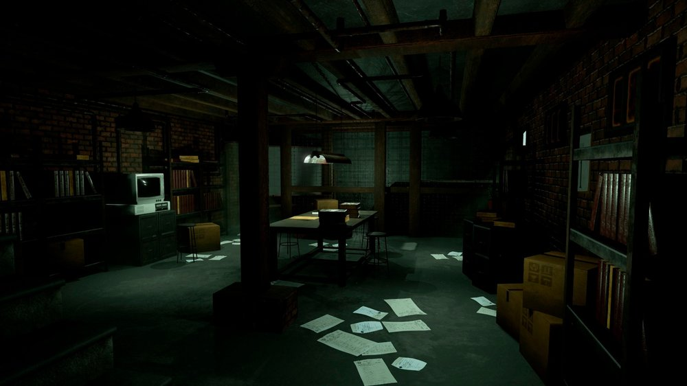 ETN Basement Lab - The basement lab anchors every episode of American Lobotomy from the first scene to the last. Not only do we meet Rugrat, Sharon, and Nō in the lab, this is where they have their final showdown where Sharon must convince her brother to stop swapping the world.