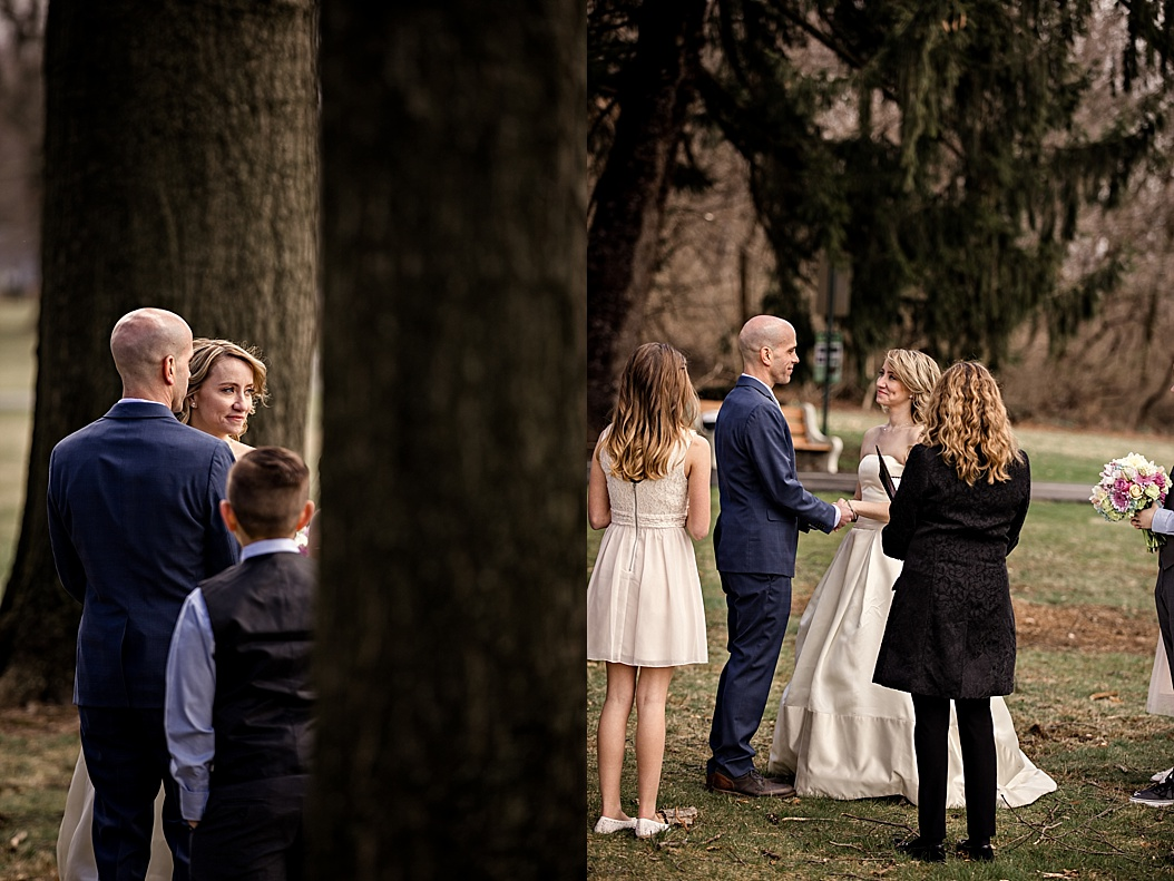 park Wedding ceremony
