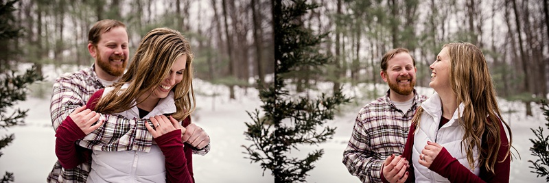 winter wardrobe ideas for engagement pictures