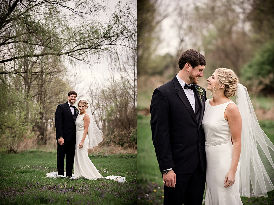 bride and groom portrait images