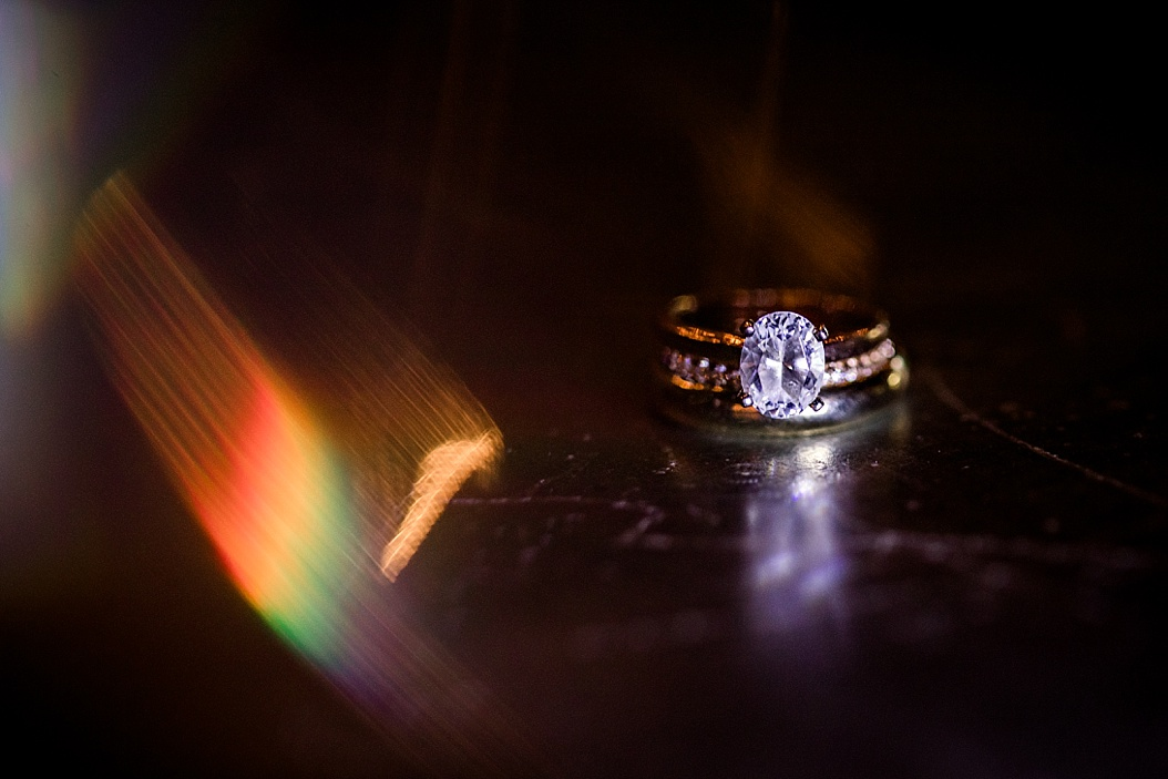 ring shot using a prism