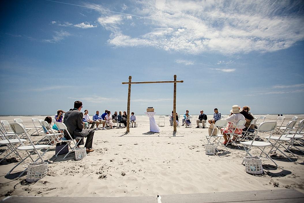 Icona, NJ beach wedding